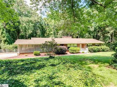 Spartanburg Single Family Home Contingency Contract: 205 Beechwood