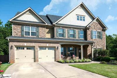 Simpsonville Single Family Home For Sale: 208 Candleston