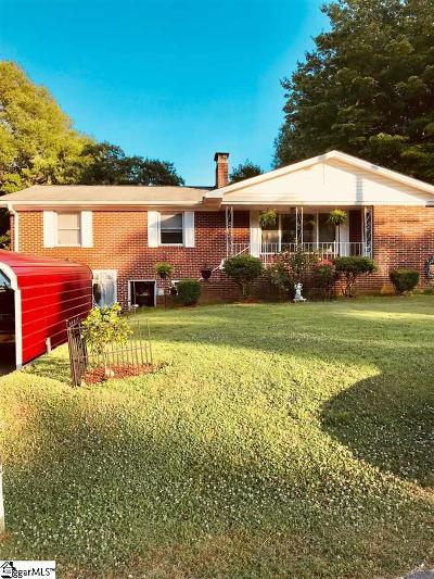 Mauldin Single Family Home For Sale: 120 Pleasant