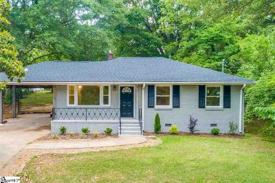 Greenville SC Single Family Home For Sale: $259,000