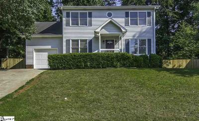 Simpsonville Single Family Home Contingency Contract: 237 Waterbury