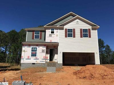 Inman Single Family Home For Sale: 520 Bella Woods #Lot 5