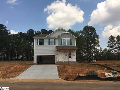 Inman Single Family Home For Sale: 524 Bella Woods #Lot 6