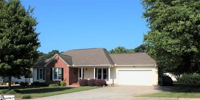 Simpsonville Single Family Home For Sale: 105 N Chancelor