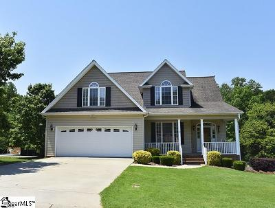 Greer Single Family Home For Sale: 1 Cunningham Point