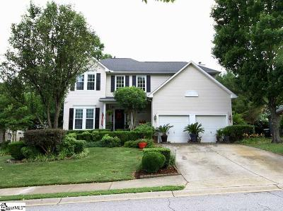 Simpsonville Single Family Home For Sale: 8 Halehaven