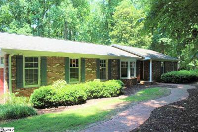 Easley Single Family Home For Sale: 211 Walter