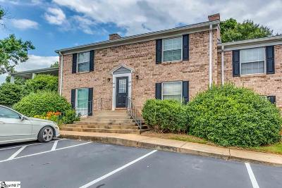 Greenville SC Condo/Townhouse For Sale: $140,000