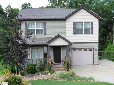 Travelers Rest Single Family Home For Sale: 139 Hawkcrest