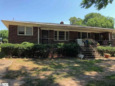 Greenville SC Multi Family Home For Sale: $125,000