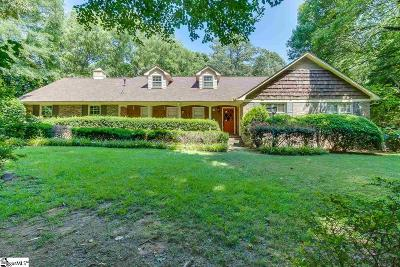 Easley Single Family Home For Sale: 107 Cindy