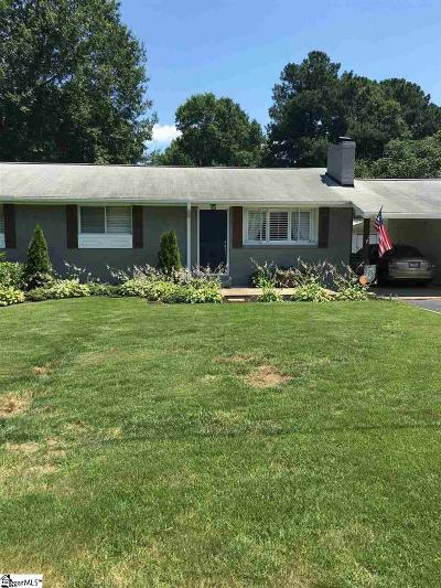 Simpsonville Single Family Home For Sale: 102 Dianne
