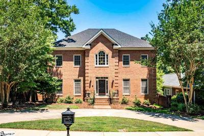 Greenville SC Single Family Home For Sale: $750,000