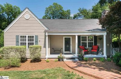 Greenville SC Single Family Home For Sale: $449,000