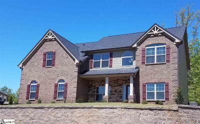 Easley Single Family Home For Sale: 116 James Lake
