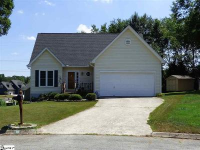 Taylors SC Single Family Home For Sale: $172,900