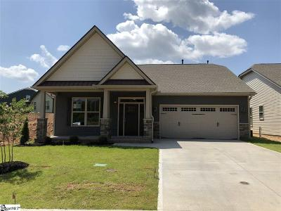 Taylors Single Family Home For Sale: 7 Creekland #Lot 41