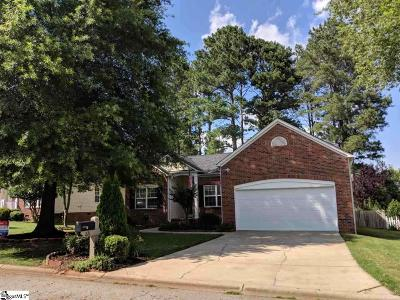 Moore SC Single Family Home For Sale: $199,900