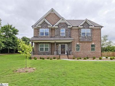 Simpsonville Single Family Home For Sale: 1 Leafmore
