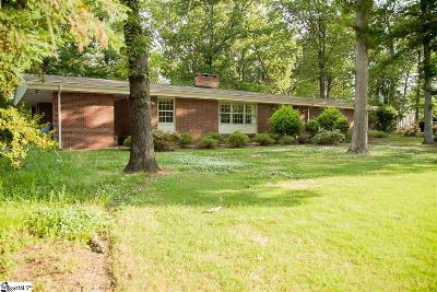Easley SC Single Family Home For Sale: $245,000