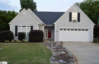 Greer Single Family Home For Sale: 118 Cotter