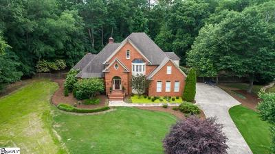 Spartanburg Single Family Home For Sale: 114 Club Pointe