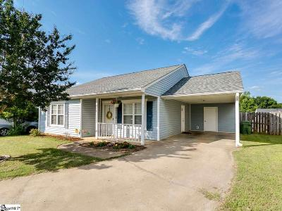 Moore SC Single Family Home For Sale: $120,000