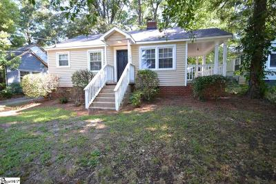 Greenville Single Family Home Contingency Contract: 17 Woodville