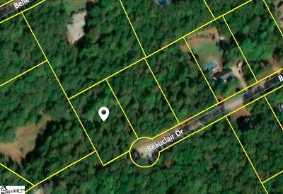 Simpsonville Residential Lots & Land For Sale: Beauclair