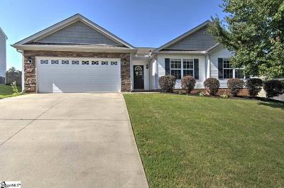 Greenville Single Family Home For Sale: 107 Riglaw