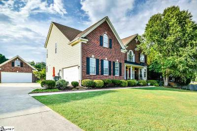 Simpsonville Single Family Home For Sale: 113 Carsons Pond