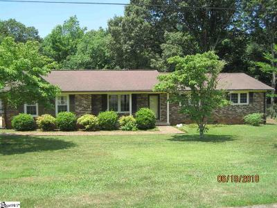 Greenville County Single Family Home For Sale: 100 Keene