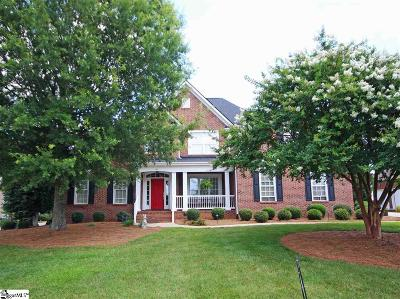 Greenville County Single Family Home For Sale: 144 Riverstone
