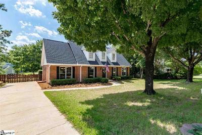 Simpsonville Single Family Home For Sale: 208 Chancelor