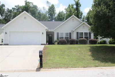 Greenville County Single Family Home Contingency Contract: 100 Granite Woods