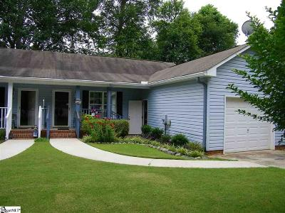 Mauldin Single Family Home Contingency Contract: 108 Old Keith