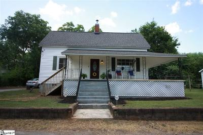 Pelzer Single Family Home For Sale: 12 Goodrich
