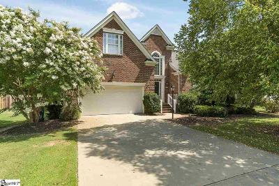 Simpsonville Single Family Home For Sale: 623 Heathercrest