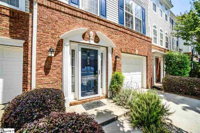 Greenville Condo/Townhouse For Sale: 608 Montreux
