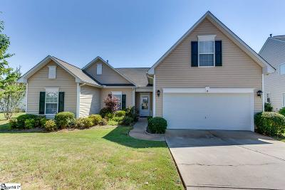 Simpsonville Single Family Home For Sale: 8 Fundy