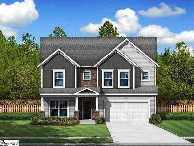 Simpsonville Single Family Home For Sale: 25 Fowler Oaks #Lot 63