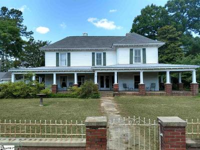 Simpsonville Single Family Home For Sale: 326 S Main