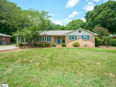 Simpsonville Single Family Home For Sale: 109 Coralvine