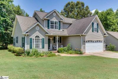 Greer Single Family Home For Sale: 501 Nichole