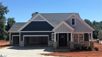 Greer Single Family Home For Sale: 300 Bevy