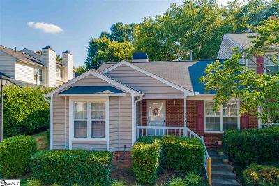 Greenville Condo/Townhouse For Sale: 40 Wood Pointe #Unit 78