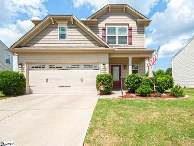 Simpsonville Single Family Home For Sale: 10 Chapel Hill