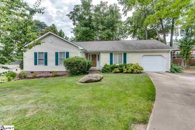 Greenville Single Family Home For Sale: 4 Yonah