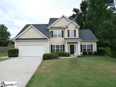 Simpsonville Single Family Home For Sale: 10 Frostweed