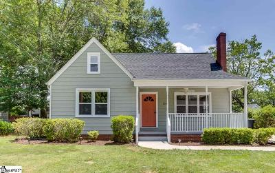 Greenville Single Family Home For Sale: 104 Darlington
